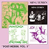 album Post-Mersh, Vol. 3 by Minutemen
