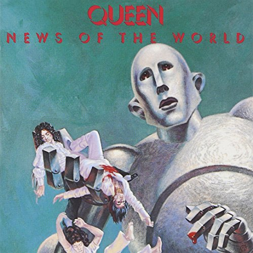 Original album cover of News of the World by Queen
