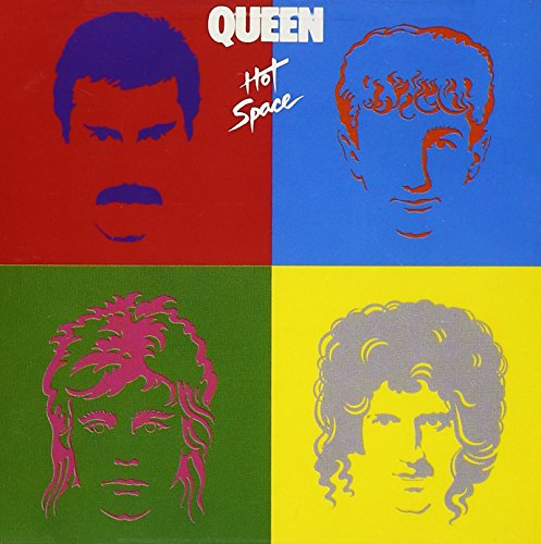 CD-Cover: David Bowie/Queen - Hot Space