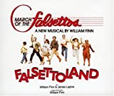 Album cover for March of the Falsettos Ocr