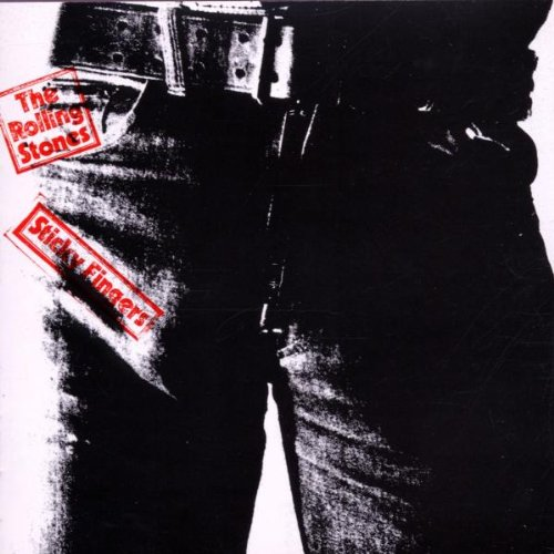 Original album cover of Sticky Fingers by Rolling Stones