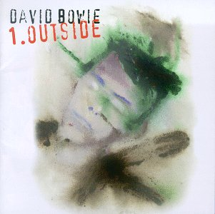 Original album cover of Outside by David Bowie