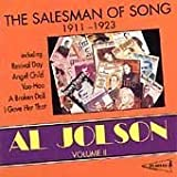 Album cover for Al Jolson, Vol. 2: The Salesman of Song 1911-1923