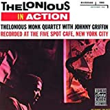 Album cover for Thelonious in Action: Recorded at the Five Spot Cafe