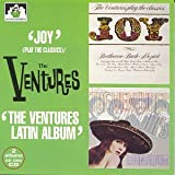 Album cover for Joy! The Ventures Play the Classics/Latin Album