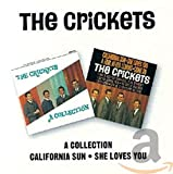 Skivomslag för California Sun/The Crickets: A Collection
