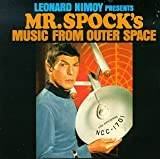 Album cover for Presents Mr. Spock's Music From Outer Space