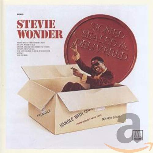 Original album cover of Signed Sealed Delivered by Stevie Wonder