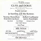 Album cover for Guys & Dolls