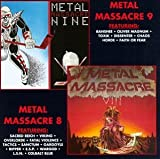Copertina di album per Metal Massacre 8 & 9