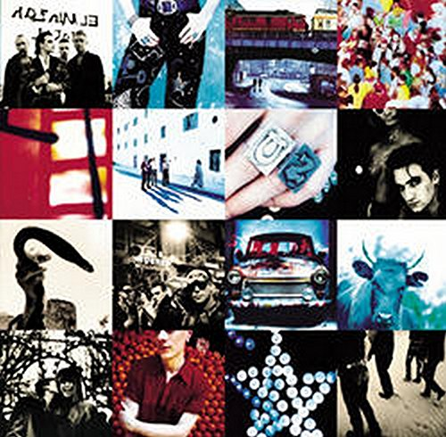 Original album cover of Achtung Baby by U2