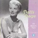 Cubierta del álbum de The Patti Page Collection: The Mercury Years, Vol. 1