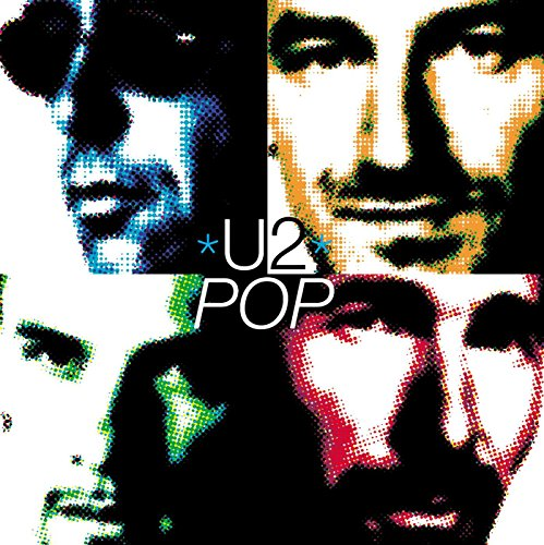 Original album cover of Pop by U2