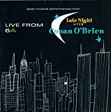 Pochette de l'album pour Live From 6A: Great Musical Performances From Late Night With Conan O'Brien