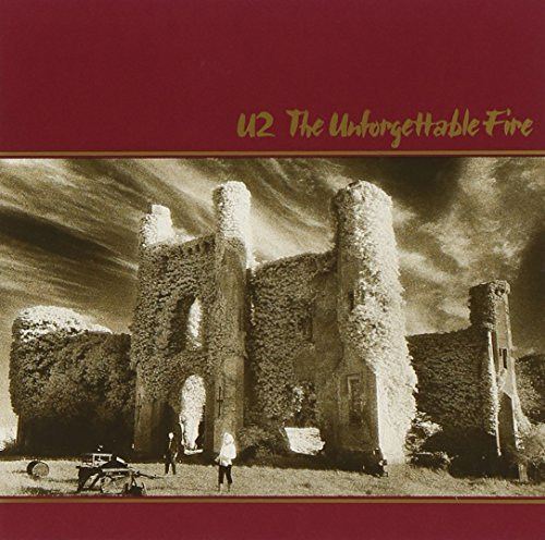 Original album cover of The Unforgettable Fire by U2
