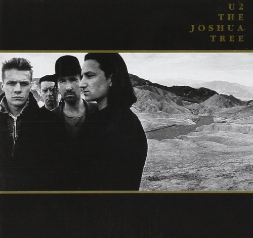 CD-Cover: U2 - The Joshua Tree