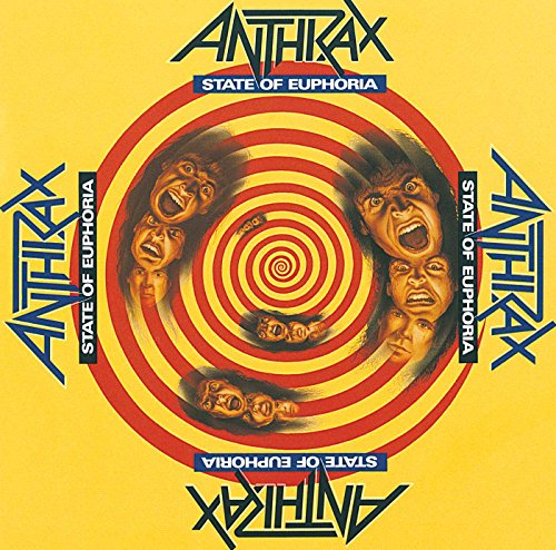 CD-Cover: Anthrax - State of Euphoria