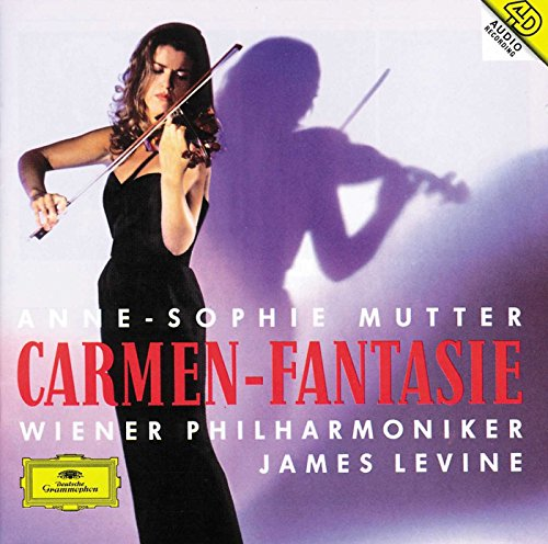 Violinist Ann-Sophie Mutter plays Sarasate's Carmen Fantasy