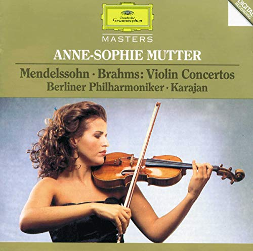 Anne-Sophie Mutter plays Brahms and Mendelssohn