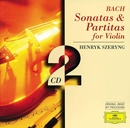Bach Partitas for Violin