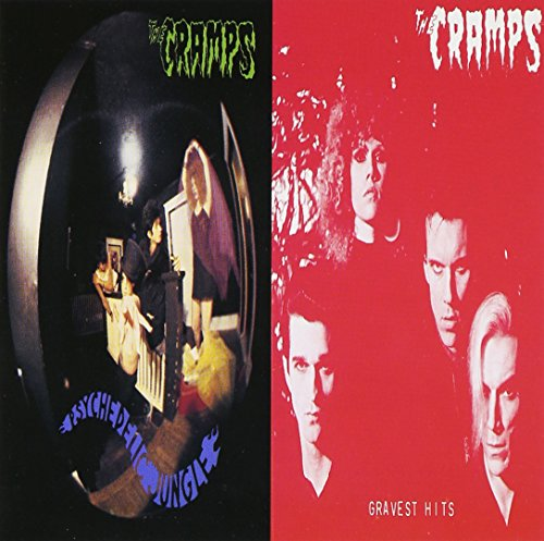 CD-Cover: The Cramps - Psychedelic Jungle/Gravest Hits