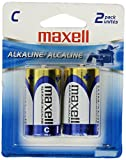 Maxell 2-Pack C Cell Alkaline Batteries