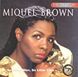 Pochette de l'album pour The Best of Miquel Brown