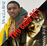 Capa do álbum The Best of Two Badd DJ's: Beenie Man & Spragga Benz