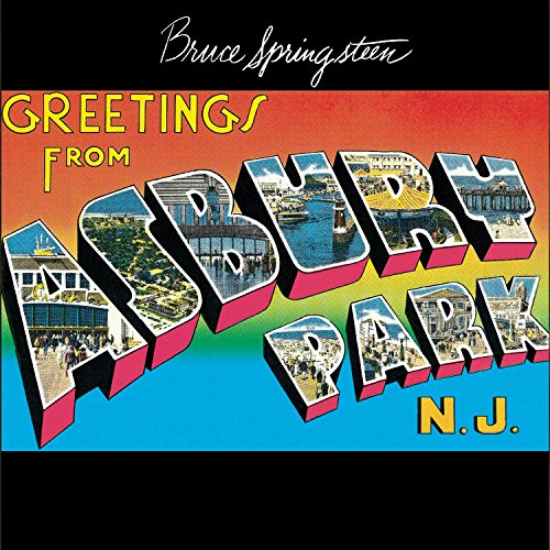 CD-Cover: Bruce Springsteen - Greetings from Asbury Park NJ