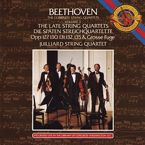 Robert Mann and the Juilliard String Quartet Play Beethoven.