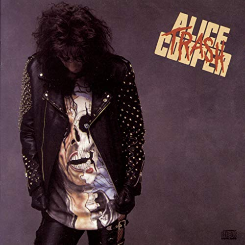 Original album cover of Trash by Alice Cooper