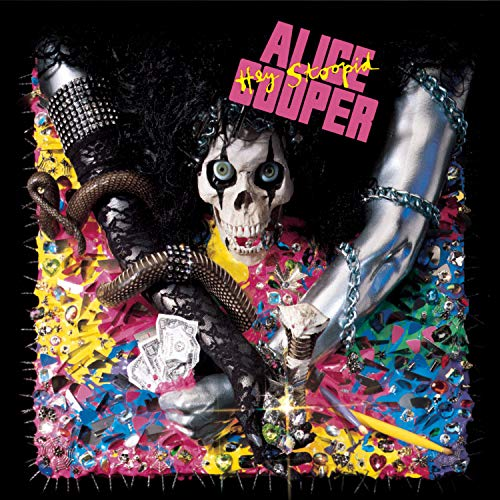 Hey Stoopid by Alice Cooper album cover