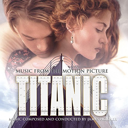 Original album cover of Titanic: Music from the Motion Picture (1997) by James Horner, James Horner, Celine Dion, Sissel