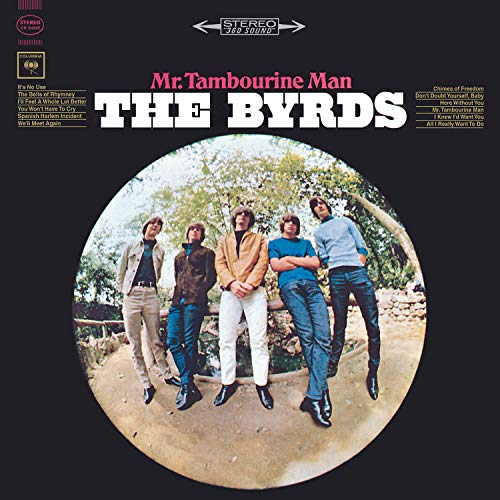 CD-Cover: The Byrds - Mr. Tambourine Man