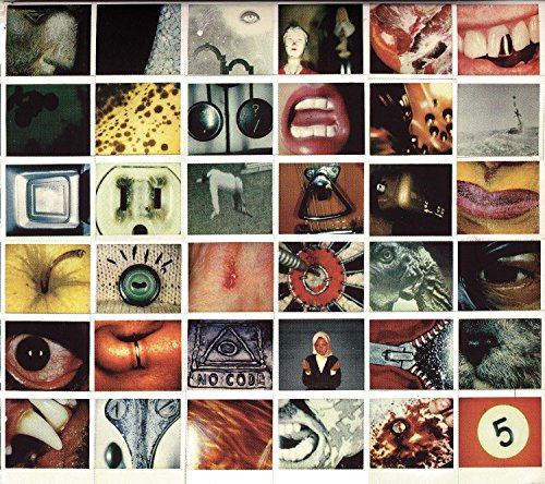cover of Pearl Jam's No Code to be fascinating the collage
