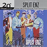 Album cover for History Never Repeats: the Best of Split Enz