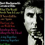 Cubierta del álbum de Burt Bacharach's Greatest Hits