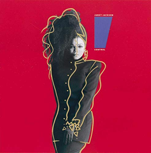 Original album cover of Control by Janet Jackson