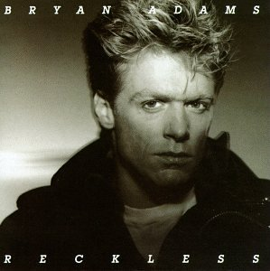 CD-Cover: Byran Adams - Reckless