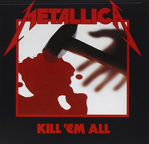 Original album cover of Kill 'Em All by Metallica
