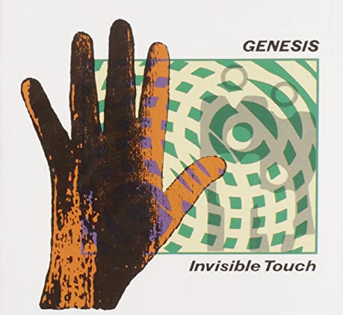 CD-Cover: Genesis - Invisible Touch