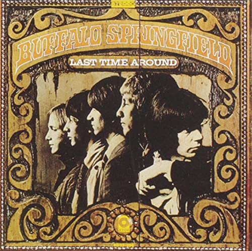 CD-Cover: Buffalo Springfield - Last Time Around