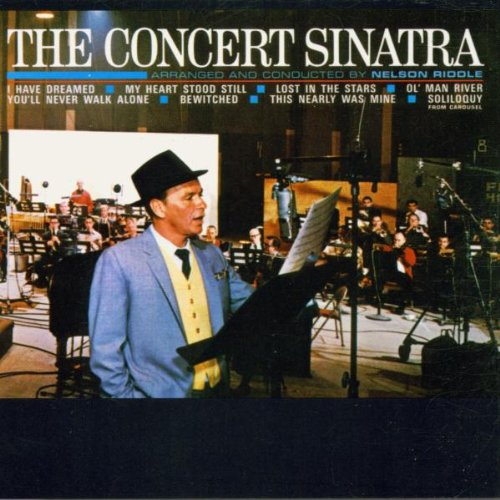 CD-Cover: Frank Sinatra - The Concert Sinatra