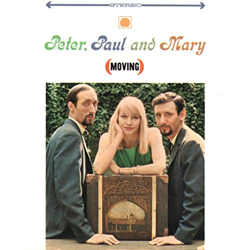 Original album cover of Moving by Paul & Mary Peter