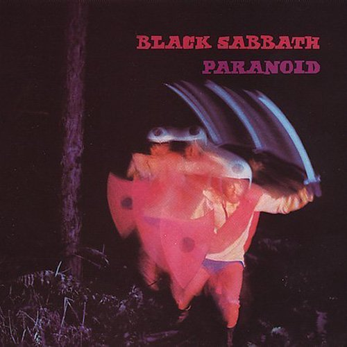 CD-Cover: Black Sabbath - Paranoid