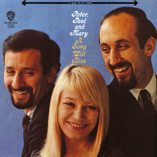 Original album cover of A Song Will Rise by Peter Paul & Mary