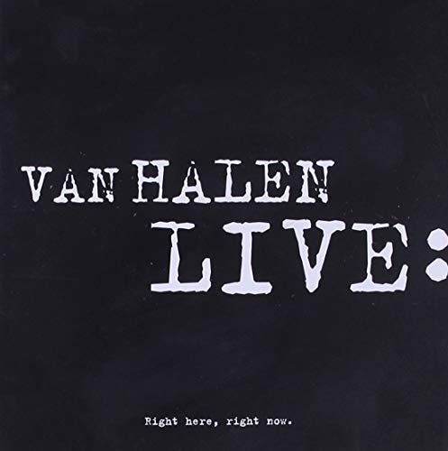 Van Halen - Live: Right Here, Right Now - Zortam Music