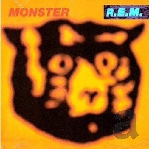 Original album cover of Monster by R.E.M.