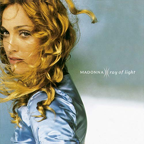 Original album cover of Ray of Light by Madonna