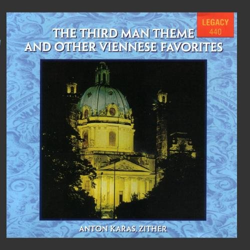CD-Cover: Anton Karas - Viennese Favorites